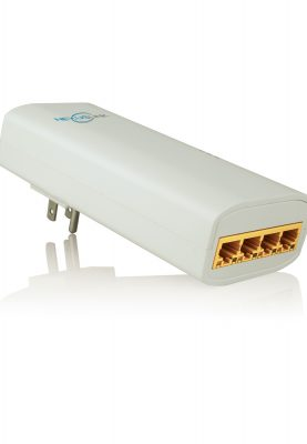 Product Image GPL-2000S4 G.hn Powerline Adapter with 4 Port Switch
